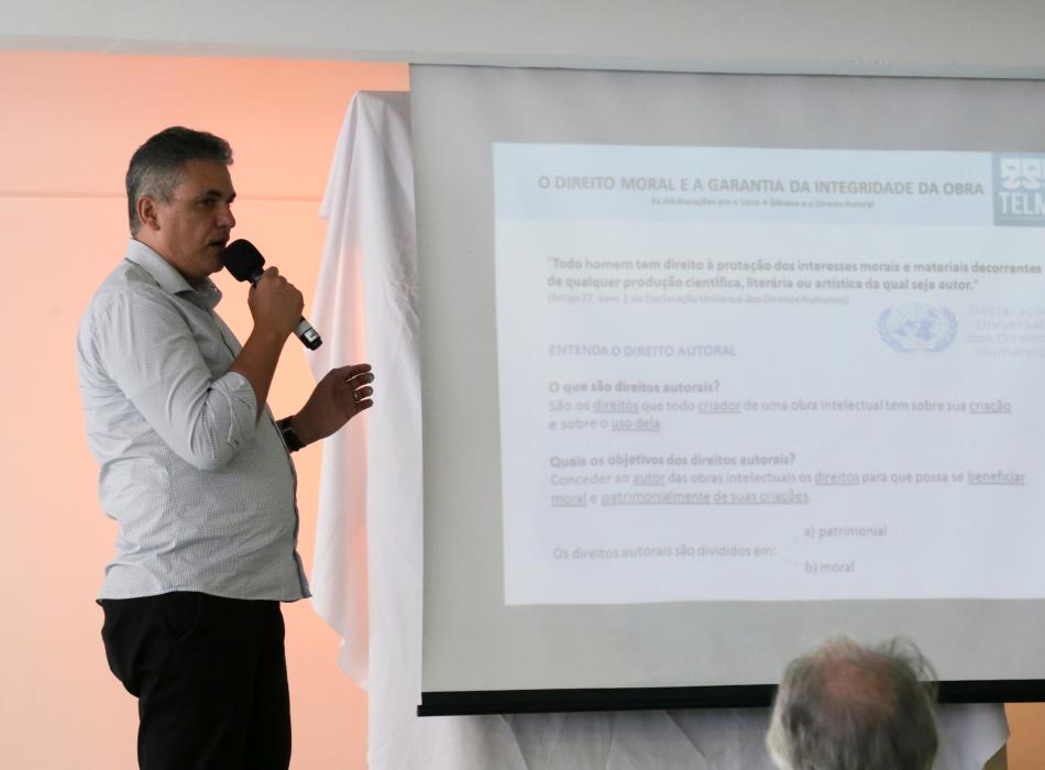 """Paulo Henrique de Figueiredo no Evento de Lançamento da """"A Gênese"""" - Obra Original"""